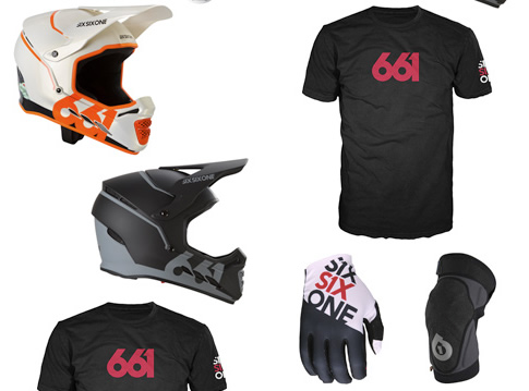 A Load of Protection Gear From SixSixOne