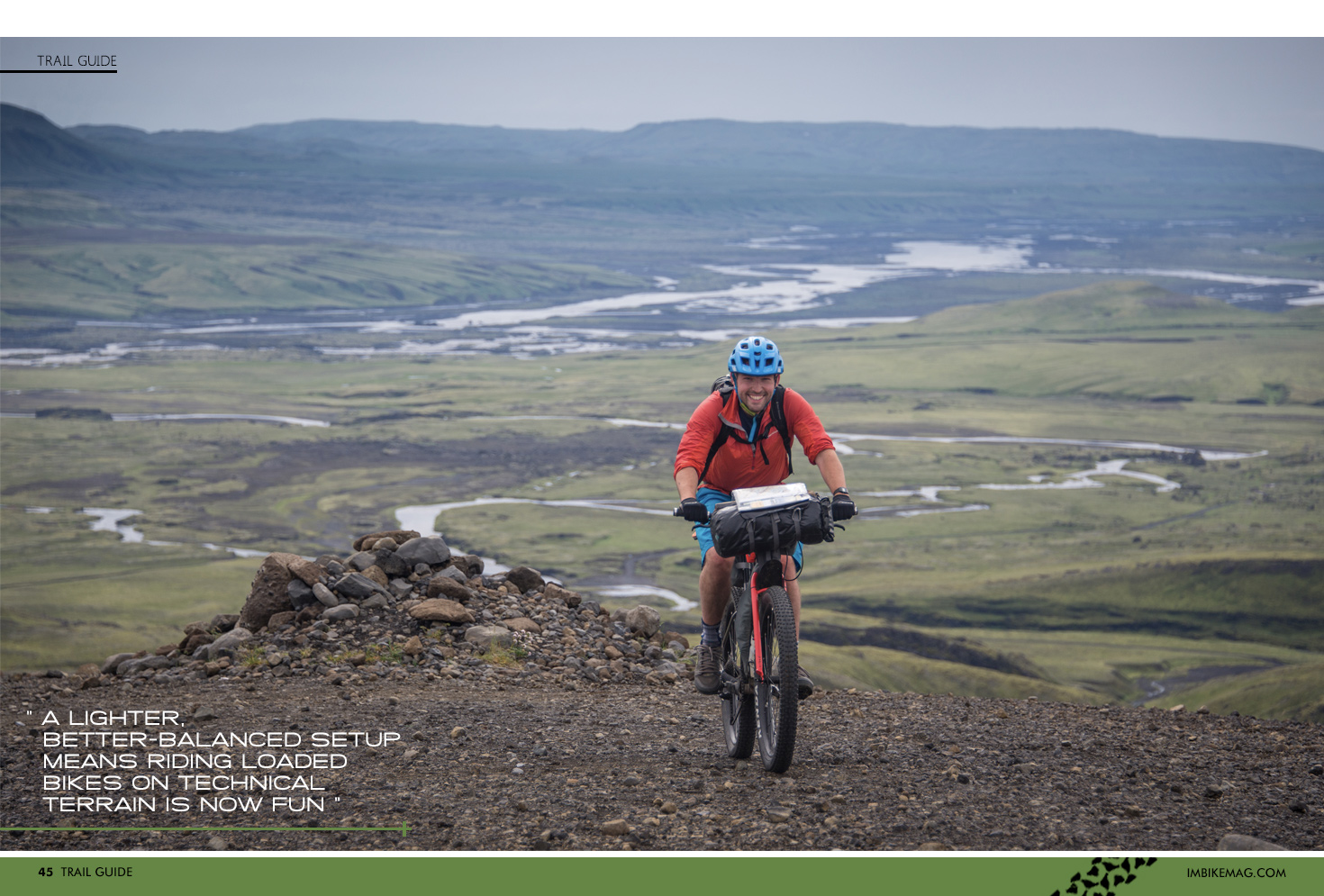 Trail Guide - Iceland Bike-Packing | Articles » Issue 45