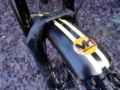 Mudhugger Coloured Decal FR Hugger 2017 Mountain Bike Review