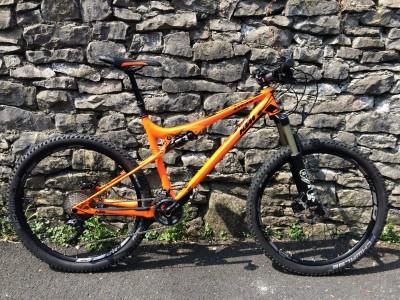 KTM Bike Industries LYCAN 272 22s/33s Deore XT 2016 Mountain Bike Review