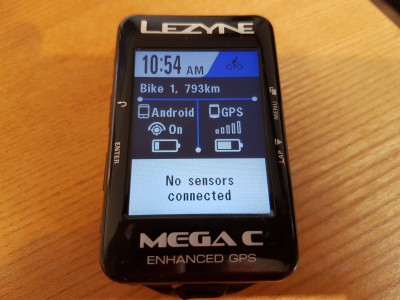 Lezyne MEGA C GPS 2019 Mountain Bike Review