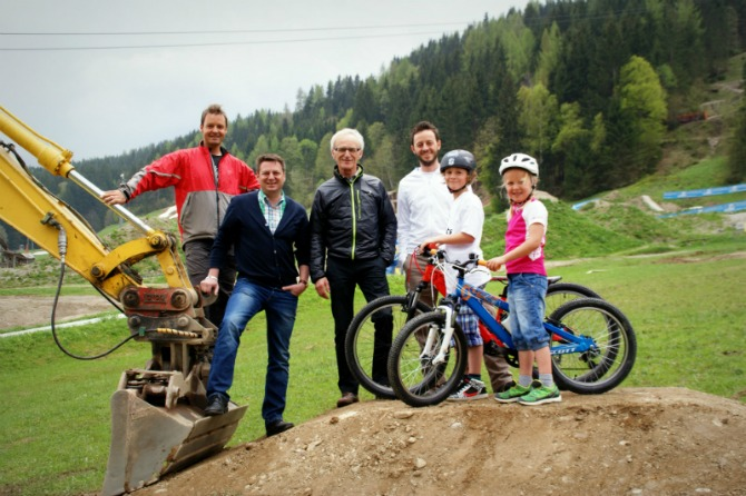 Mountain Bike News - Leogang Bikepark's new Kiddy Park