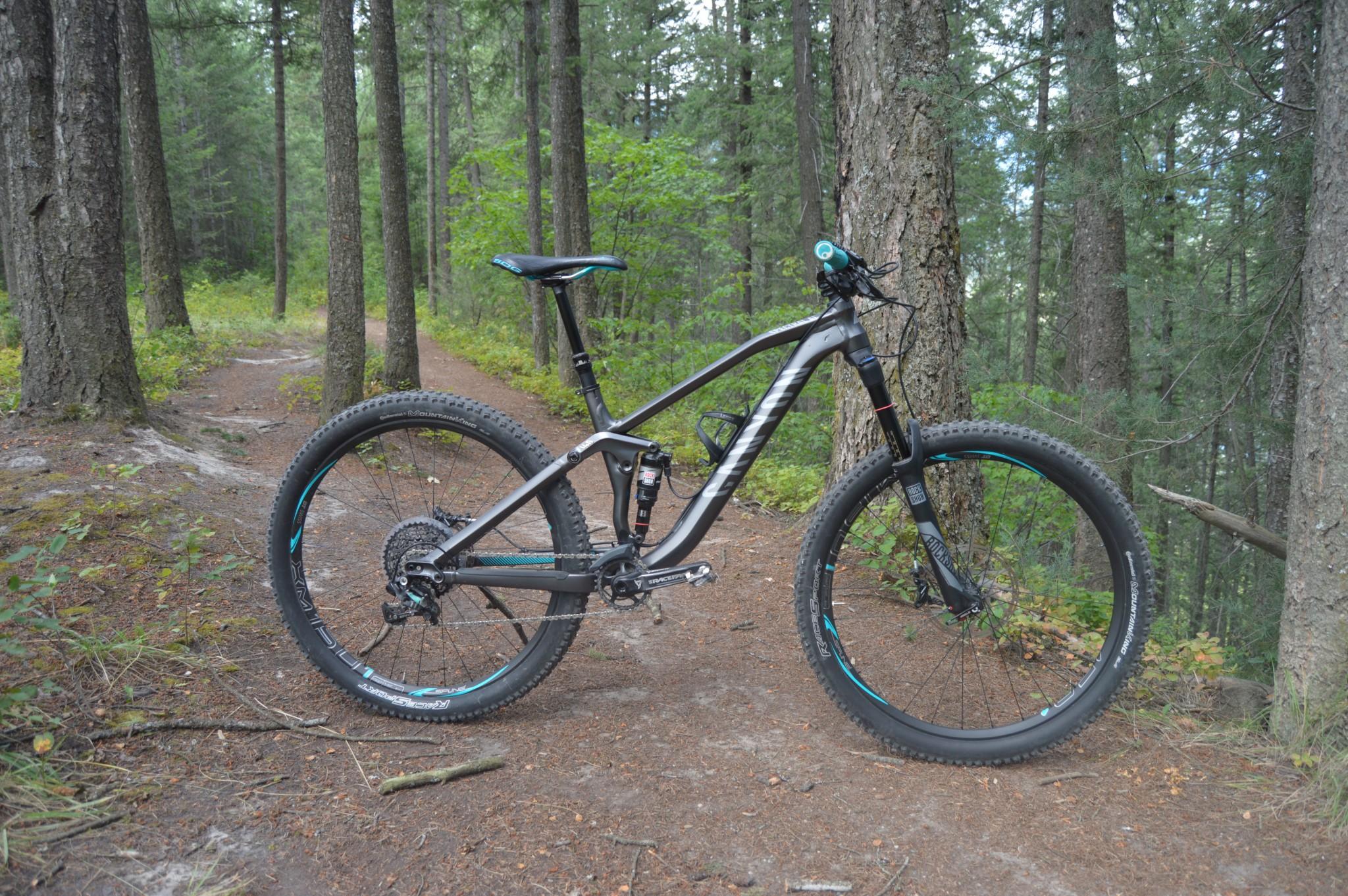 Canyon Bicycles Spectral AL 8 0 EX WMN 2016 | Mountain Bike Reviews