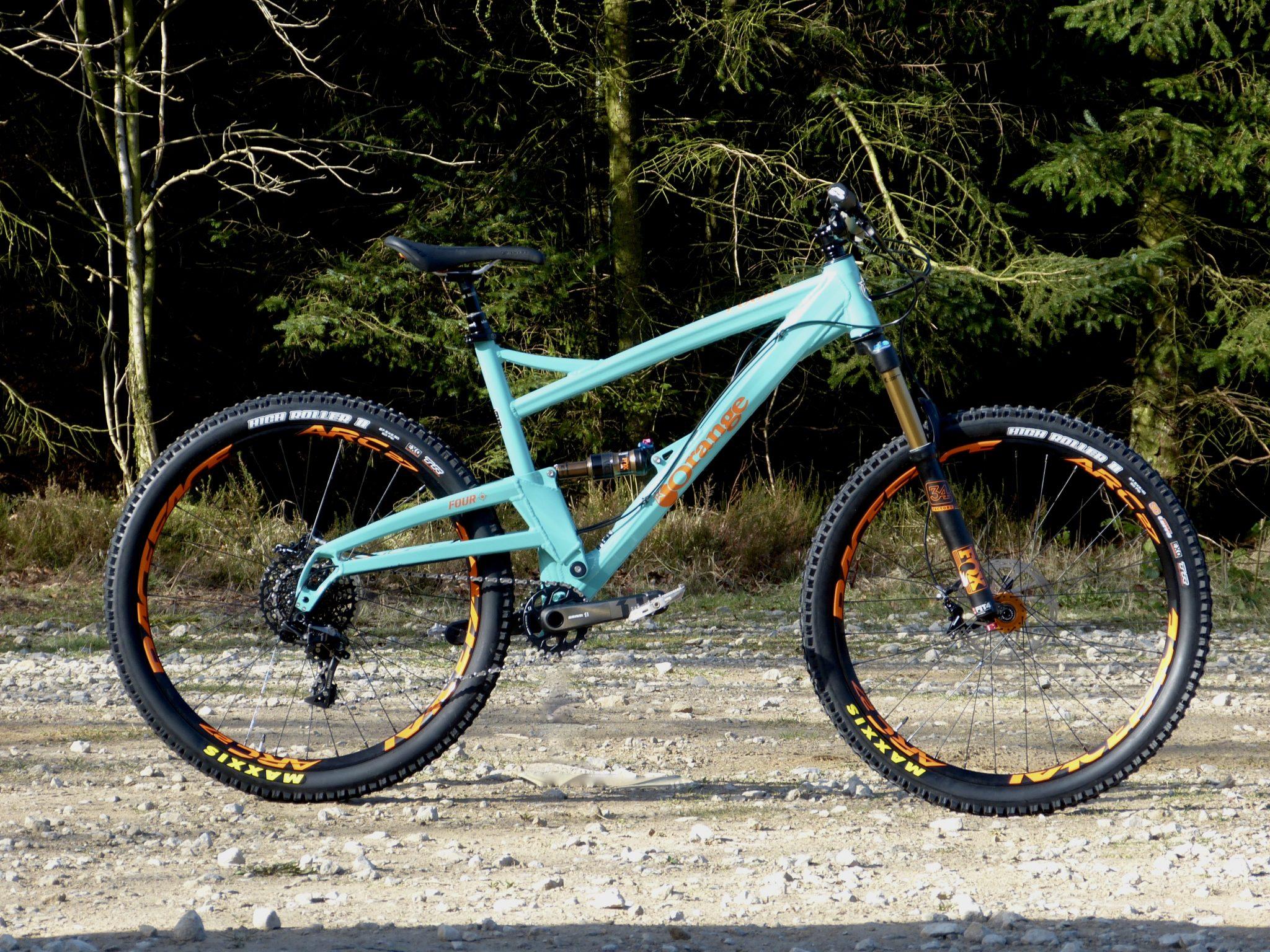 Orange Mountain Bikes Four RS 2017 | Reviews » Bikes ...