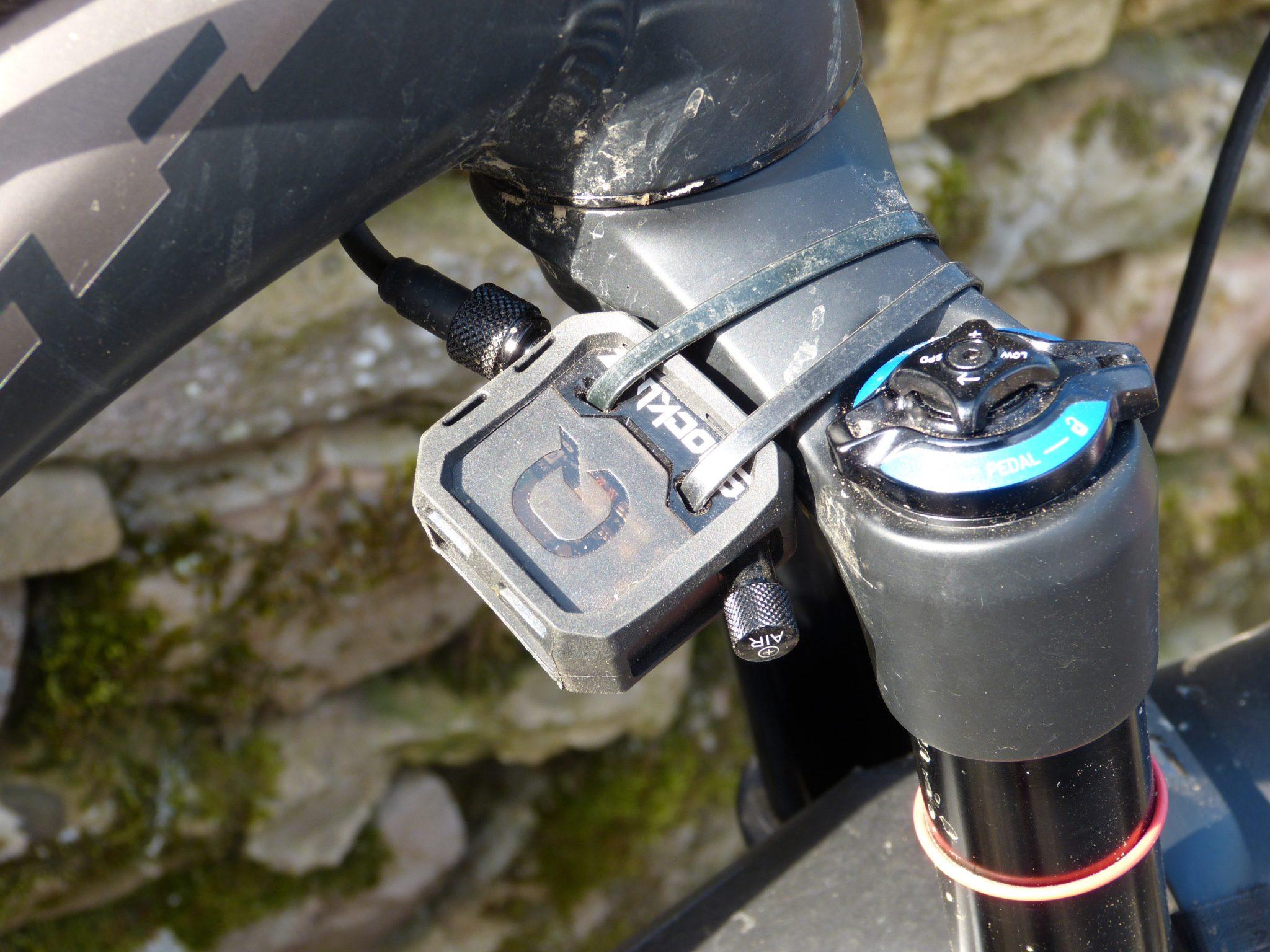 SRAM Quarq Shockwiz MTB Bike Suspension Fork Tuning Device Bluetooth