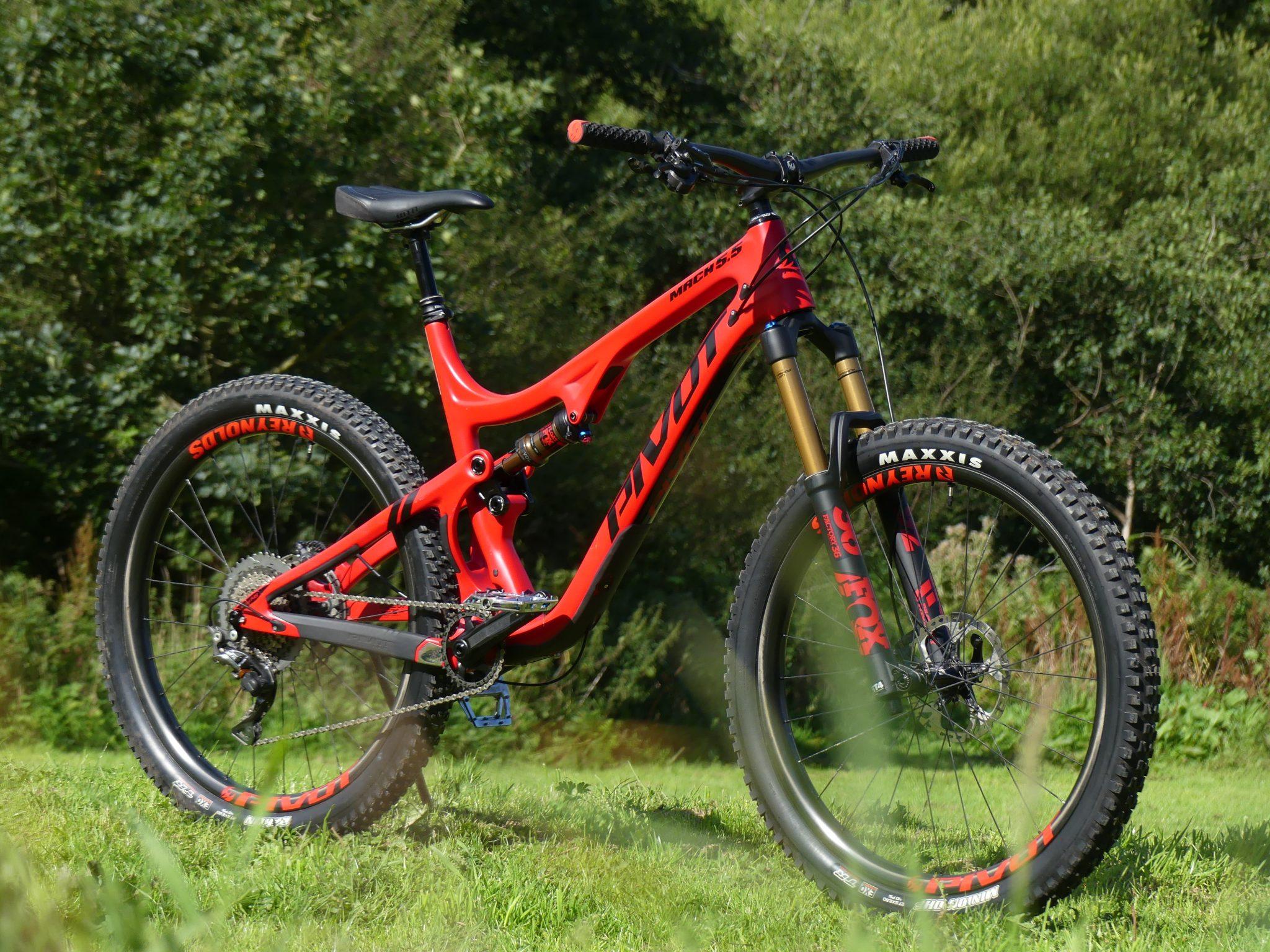 Pivot Cycles Mach 5 5 2017   Mountain Bike Reviews » Bikes » Trail