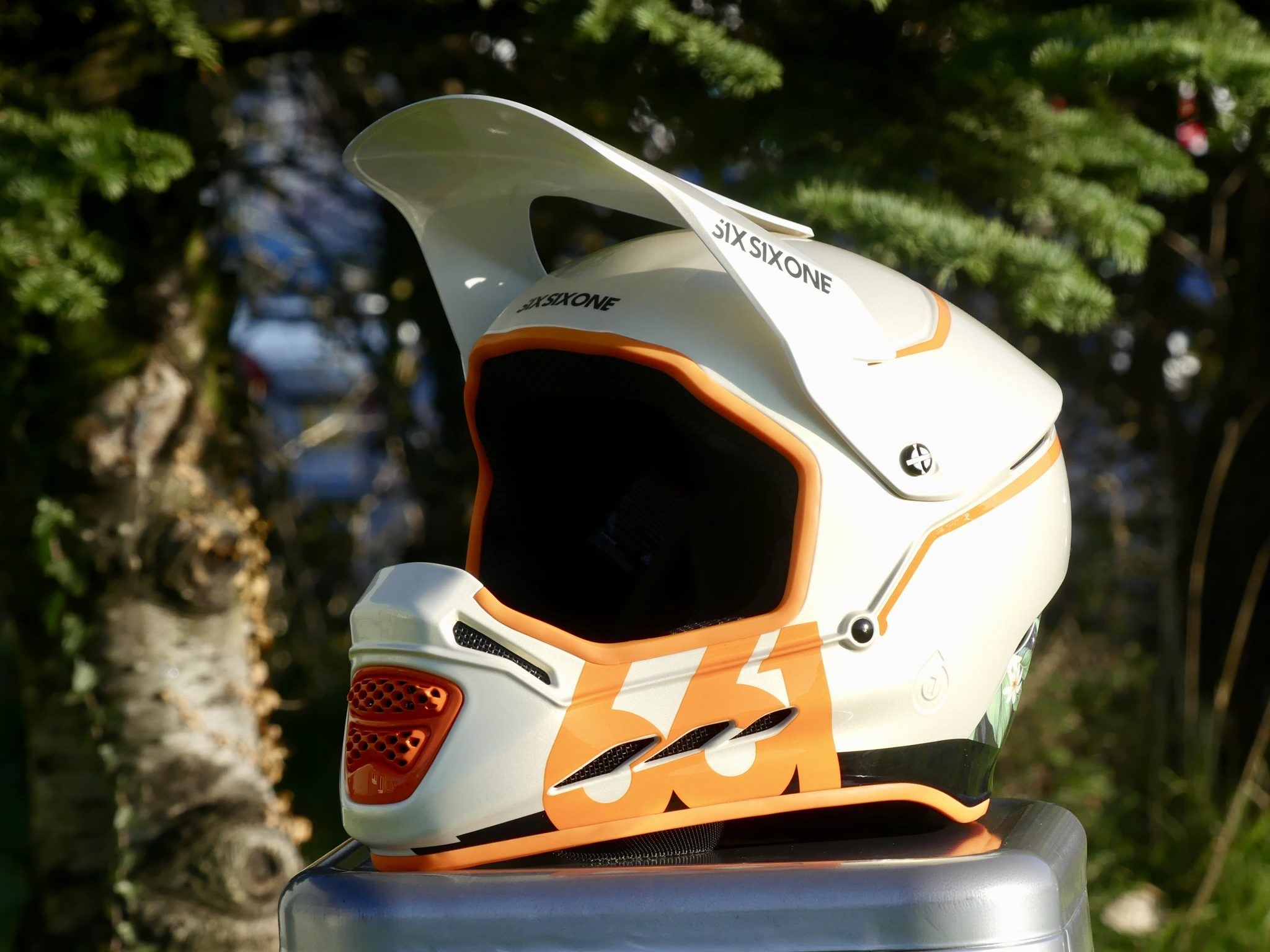 Sixsixone 661 Reset Helmet Visor Peak White