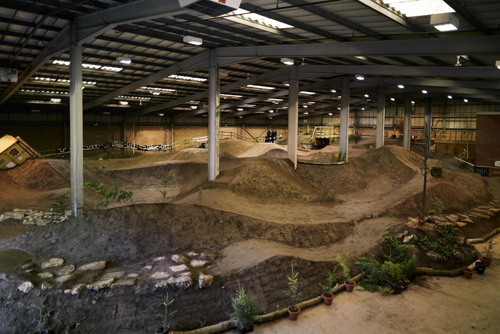 Trek Supports New Dirt Factory Indoor Bike Park Imb